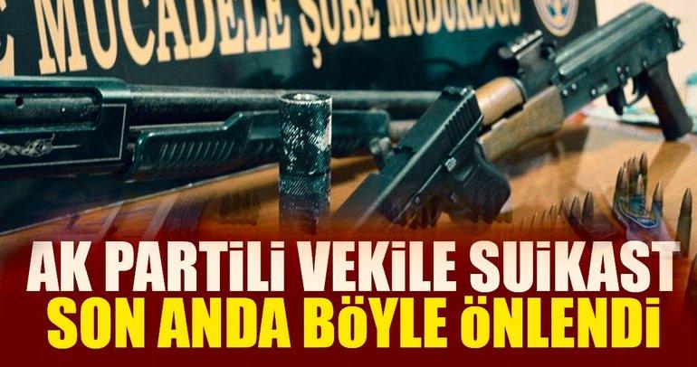 AK Parti Milletvekilline suikast son anda önlendi