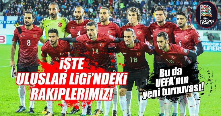 UEFA Uluslar Ligi'nde ligimiz belli oldu!