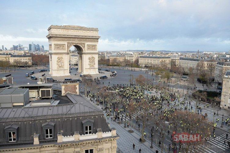 Fransa tetikte! 'Sarı Yelekliler'in eylem çağrısının ardından...