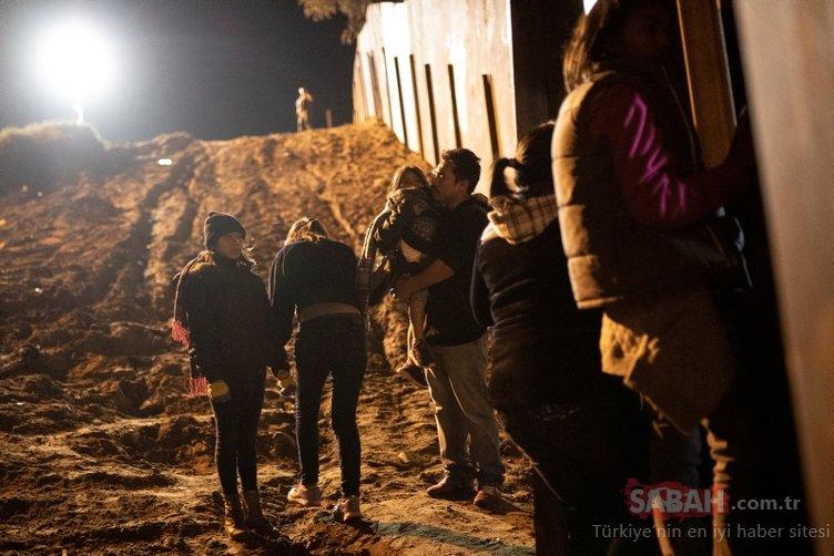Sınırdaki göçmenler Trump'a rağmen umutlu
