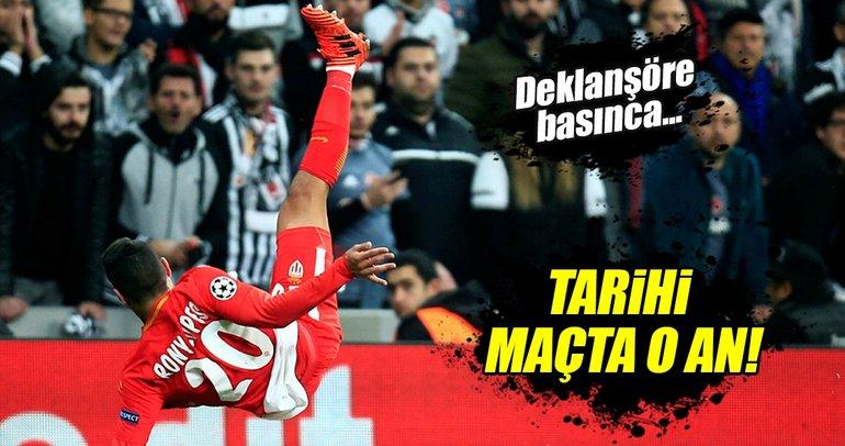 Beşiktaş - Monaco maçından kareler