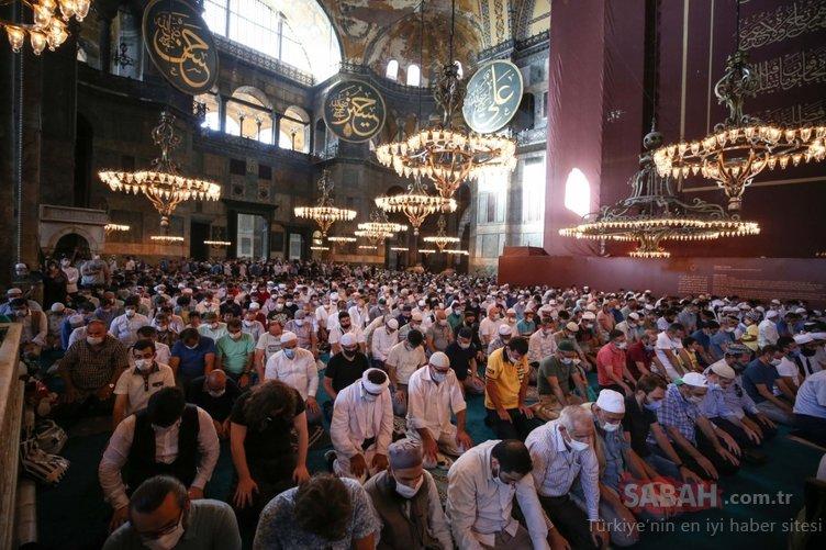 Ayasofya'nın cami olacağını duyduğumuzda gözyaşlarımız sel oldu