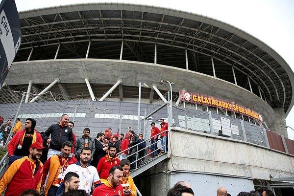 Galatasaray taraftarı Kadıköy'e böyle geldi
