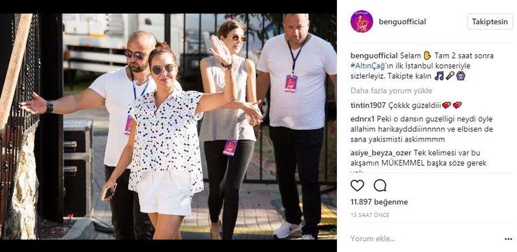 Ünlü isimlerin Instagram paylaşımları (02.08.2017)
