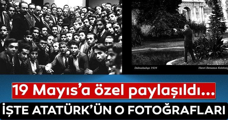 Genelkurmay arşivlerinden 19 Mayıs'a özel Atatürk fotoğrafları