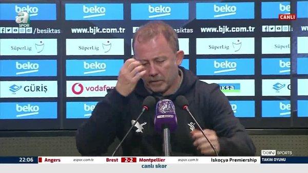 Sergen Yalçın Beşiktaş - BB Erzurumspor maçı sonrası konuştu!