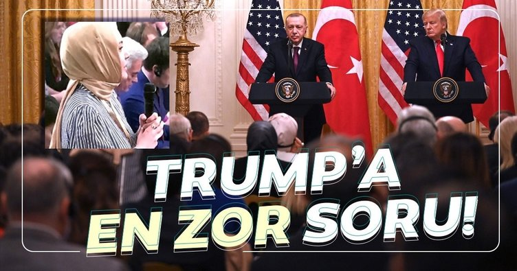 Hilal Kaplan'dan Trump'a zor soru:Türkiye'de 17 terör saldırısını gerçekleştiren Mazlum Kobani'yi hala Beyaz Saray'a davet etmeyi düşünüyor musunuz?