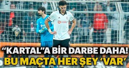 Beşiktaş'a bir darbe de Sivasspor'dan