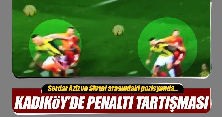 Fenerbahçe-Galatasaray derbisinde penaltı tartışması