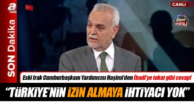 Türkiye'nin izin almaya ihtiyacı yok