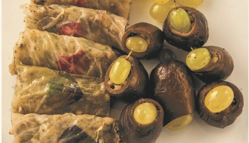 Patlıcan ve Lahana Dolması