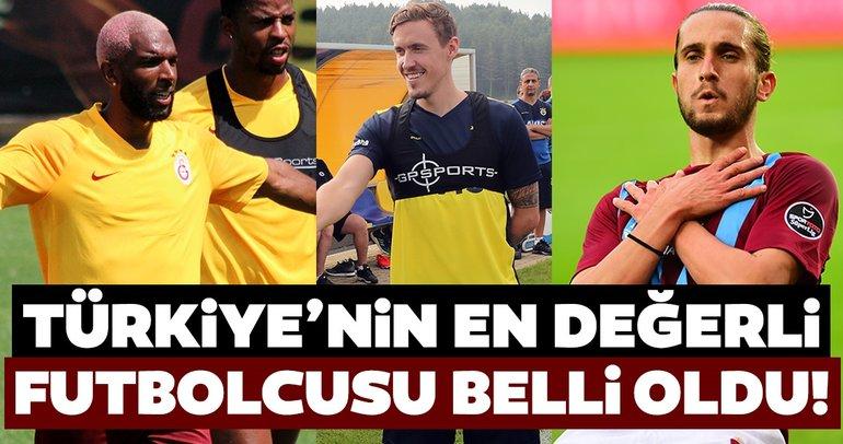 Süper Lig'in en değerli futbolcuları belli oldu: Abdülkadir Ömür ve Yusuf Yazıcı