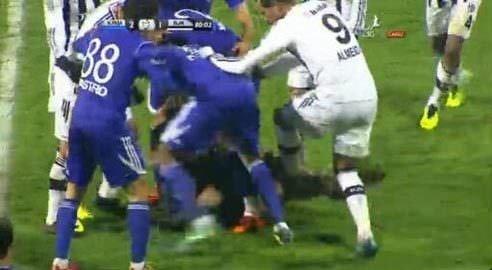 Fernandes'e taraftar saldırısı