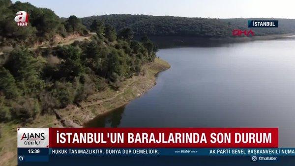 SON DAKİKA: İstanbul'un barajlarında son durum   Video