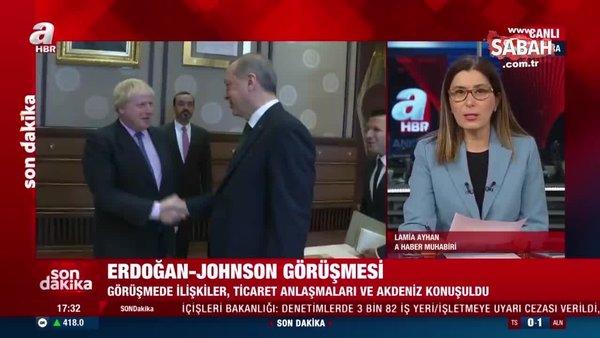 Son dakika: Başkan Erdoğan, İngiltere Başbakanı Johnson ile görüştü! İşte ele alınan konular | Video
