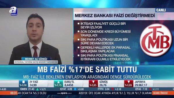 Merkez Bankası piyasalara ne mesaj verdi?