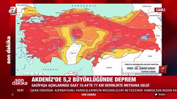 Son dakika! Antalya'da yeni deprem bekleniyor mu? Prof. Şükrü Ersoy'dan uyarı | Video