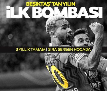 Son dakika: Yılın ilk transfer bombası Beşiktaş'tan! Sergen Yalçın da imzayı atıyor