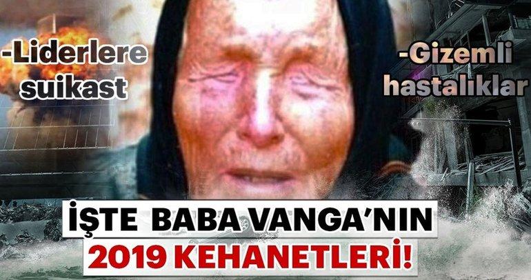 Baba Vanga'nın 2019 yılı kehanetleri tüyler ürpertiyor! Donald Trump'ın o hastalığından Mars gezegenine kadar...