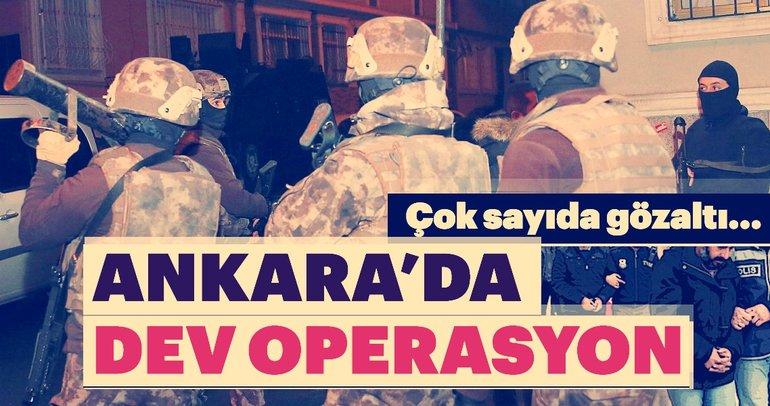 Ankara'da DEAŞ operasyonu: 20 gözaltı