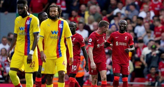 Liverpool Crystal Palace'ı 3 golle geçti