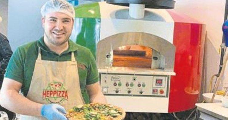 Türk mutfağı ile pizzayı buluşturdu