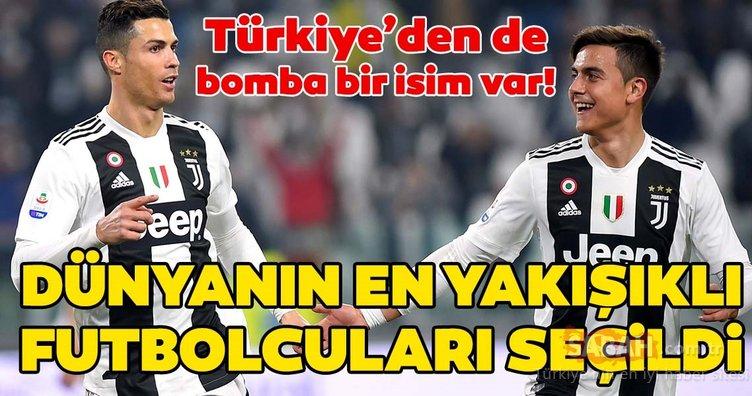 Dünyanın en yakışıklı 20 futbolcusu! Türkiye'den bir isim de listeye girdi