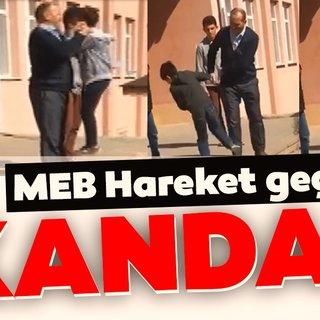 Çankırı'da skandal görüntüler! Milli Eğitim Bakanlığı hemen harekete geçti...