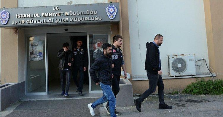 Son dakika: Fenerbahçe - Beşiktaş maçındaki olaylarla ilgili 5 kişi mahkemeye sevk edildi