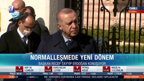 Başkan Recep Tayyip Erdoğan'dan Kanal İstanbul açıklaması!