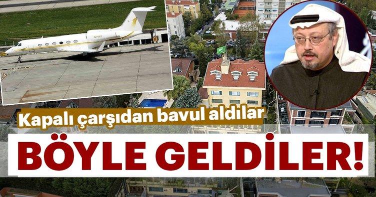 15 kişilik Suudi timi Türkiye'ye böyle geldi!