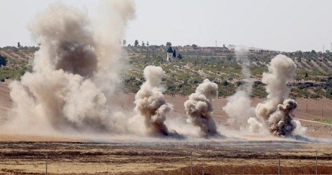 TSK: Fırat Kalkanı'nda 12 DAEŞ hedefi imha edildi