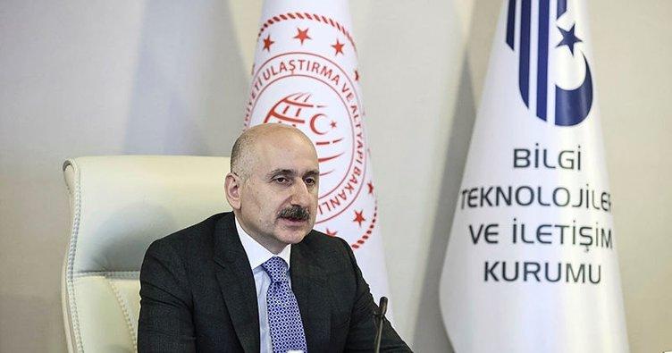 Bakan Karaismailoğlu'ndan 5G açıklaması: Projemizin ilk fazı mart ayında tamamlanacak.