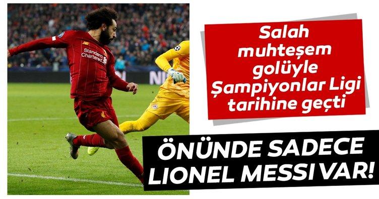 Muhammed Salah, Şampiyonlar Ligi tarihine geçti! Önünde sadece Lionel Messi var