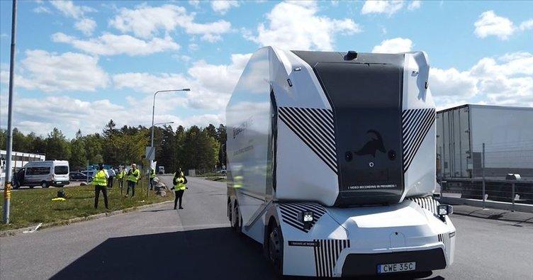 İsveç'te 'sürücüsüz kamyon' dönemi