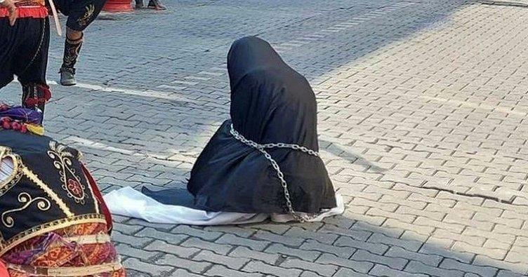 Edremit'teki skandal görüntüler Anadolu kadınına hakaret