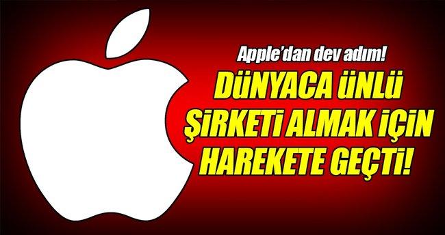 Apple dünyaca ünlü şirketi almak için harekete geçti!