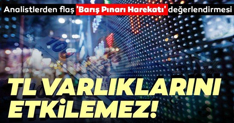 Analistler, Barış Pınarı Harekatı'nda TL varlıklarda bozulma beklemiyor
