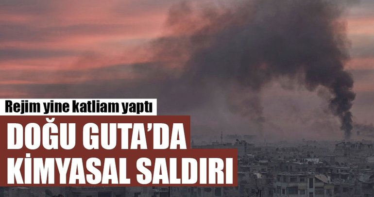 Doğu Guta'da kimyasal saldırı