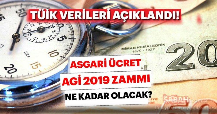 2019 Asgari ücret zammı ne kadar olacak? Son dakika asgari ücret AGİ zammı açıklaması burada...