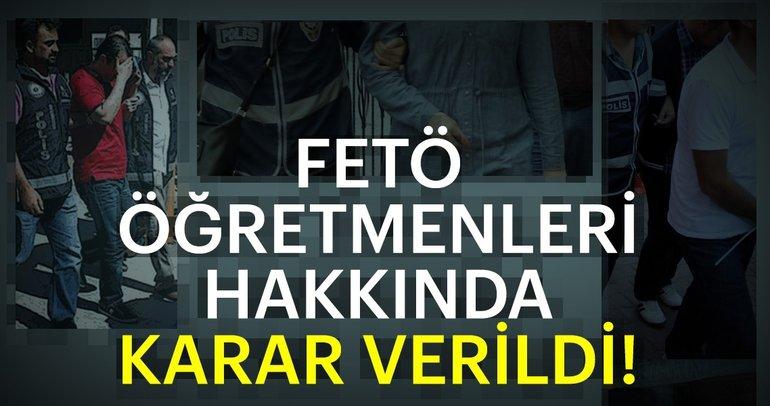 Son dakika: Ankara'da FETÖ okullarında görev yapan 93 kişi hakkında karar