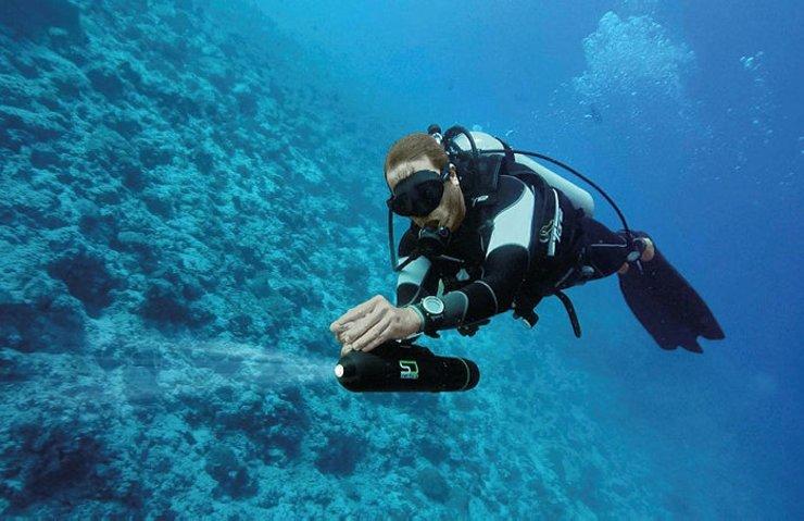 su altına dalış