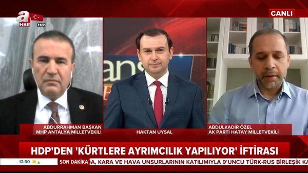HDP'nin 'Kürtlere ayrımcılık yapılıyor' iftirasına tepkiler büyüyor | Video