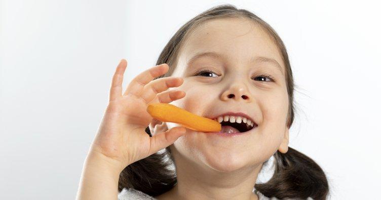 Çocuklarda diş gelişimine iyi gelen besinler
