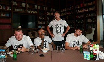 Beşiktaş'ta yeni transfer Tyler Boyd kampa katıldı (YENİDEN)