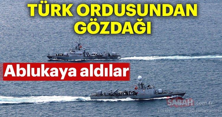 Türk ordusundan gözdağı! Çelenk atamadılar