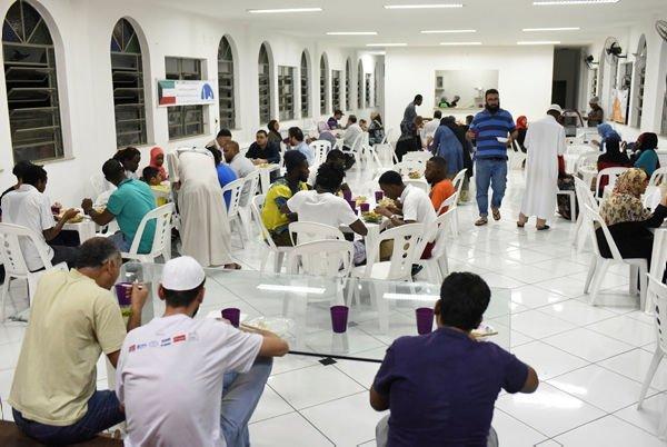 Rio'da iftar saati