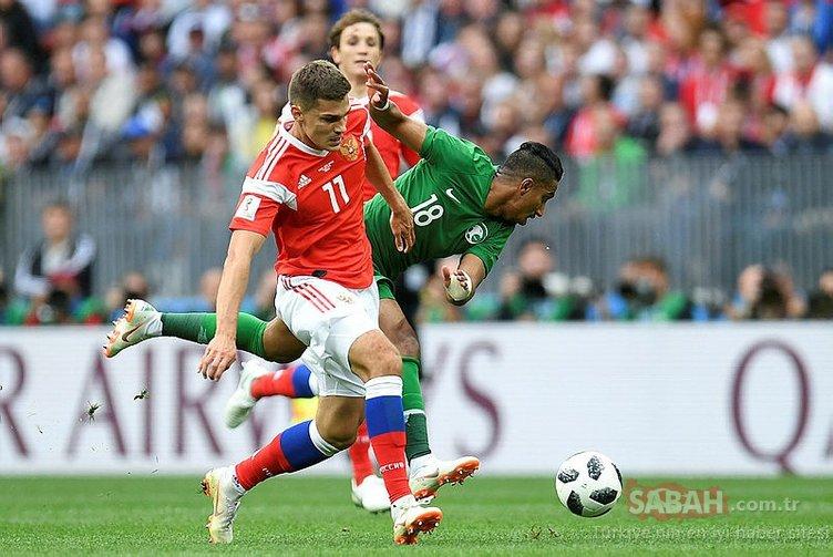 2018 Dünya Kupası'nda ilk günden kareler