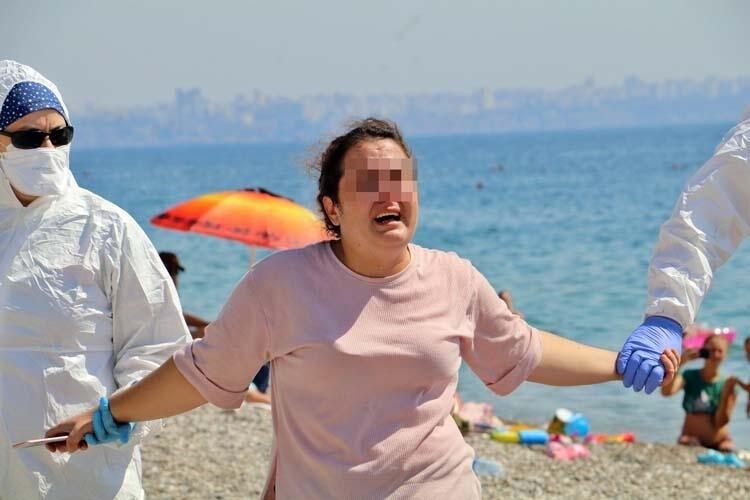 Son dakika: Konyaaltı Plajı'nda 'Ölmek istiyorum' çığlıkları ile ortalığı birbirine katmıştı! Yeni haber geldi...