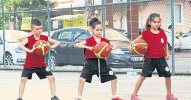 Çocukların basketbol aşkı